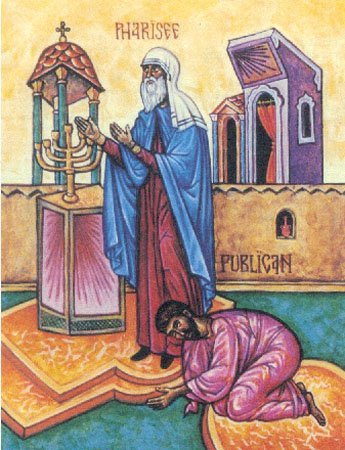 THE-TAX-COLLECTOR-AND-THE-PHARISEE-AND-THE-LENTEN-TRIODION-Publican-and-Pharisee-icon