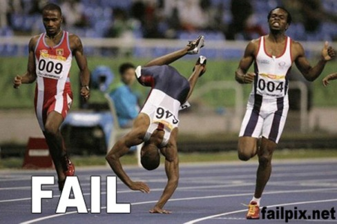 Epic sport and games fails
