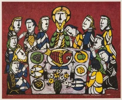 sadao-watanabe_last-supper_1995